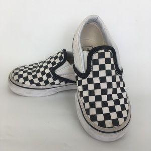 077dd7cd60f14b Vans Shoes - Vans checkerboard slide on shoes toddler size 9